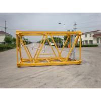 Buy cheap Q345B Steel Tower Crane Sections For Lib Tower Crane CE ISO 2300*2300*4140 mm from wholesalers