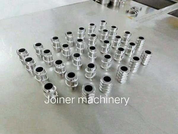 Buy HRC58 - 62 Pellet Machine Parts Kneading Block Element Sandblasting Surface Finishing at wholesale prices