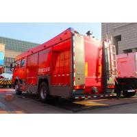 Quality Sinotruk Howo 4x2 Fire Fighting Trucks 8m3 Water Tank 251hp - 350hp for sale
