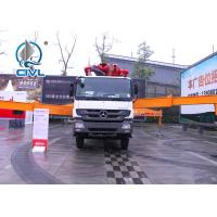 Quality WITH ISO CCC  12m3 Cement Pump Truck  Truck Mounted Concrete Pump Boom Best Price For Oversea Market for sale