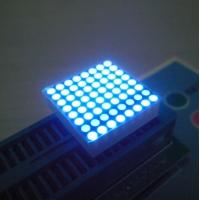 Buy cheap High Brightness 2mm Led Dot Matrix Display 0.8 Inch black Surface from wholesalers