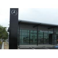 Quality Mercedez Benz Car Showroom Building Steel Structure With 50 Years Lifespan for sale
