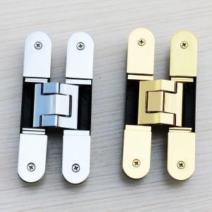 China 3d adjustable hinge uk 180 degree hidden door hinges on sale