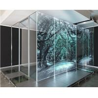 China 3mm toughened glass price density toughened glass separate/partition/divider for room on sale