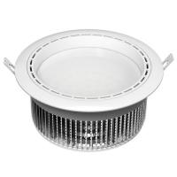 Quality Energy saving IP44 9watt Recessed LED Downlight for Home / Office / cabinet for sale