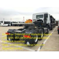 Buy cheap 2017 NEW HOWO7 6X4 Tractor Head Tow Trucks with 10tires 371HP and Air pod 90# from wholesalers