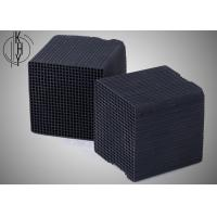 Quality Black KHY Activated Carbon Honeycomb For Chemical Industrial Exhaust Treatment for sale