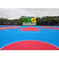 Quality Guangzhou University Construction Project Case , Silicon PU Sports Court for sale