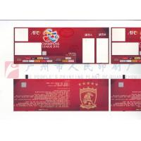 Quality Custom Size Event Ticket Printing Services , Barcode Admission Ticket Printing for sale