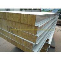Quality Anti Oxidation Metal Roof Panels Steel Structure Insulated Wall Panels for sale