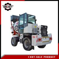 Buy cheap Building Construction 2.5m3 Mobile Concrete Truck / Electric Cement Mixer from wholesalers