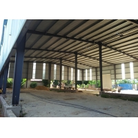 Quality Prefabricated light Steel Frame Warehouse Construction Large Span Portal Structure Design for sale