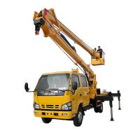Quality 14-16m Aerial Platform Working Truck , Overhead Working Truck 4X2 for sale