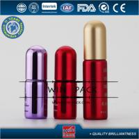 Buy cheap Fantastic 5ml Red Color Glass Roller Bottles For Essential Oils from wholesalers
