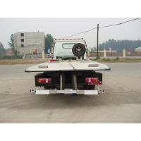 Quality Obstacle Flatbed 5T Heavy Duty Tow Trucks / SINOTRUK HOWO for sale