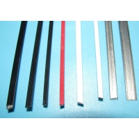 Quality 1.2mmX3.0mm Flat Plastic Coated Wire White Black Polyester Carbon Steel Core for sale