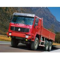 Quality COLORFUL 350HP 6x6 Heavy Cargo Truck All Wheel Drive , Diesel Truck for sale