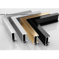 Quality Wide Edge Metal Aluminium Picture Frame Mouldings For Gallery for sale