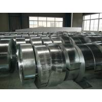 Quality OEM Hot Dip Galvanising Steel Strip Coil  Fire Resistance Environment Protection for sale