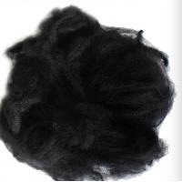 Quality Black Reliance Polyester Staple Fibre 1.2D X 38MM For Non - Woven Fabric for sale