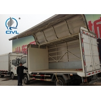Quality 5 Ton Light Duty Commercial Van And Trucks Right Hand Driver 3C Wingspan Truck for sale