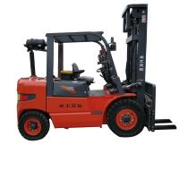 Quality Lonking 4 Ton Diesel Engine , Weichai Engine Internal Combustion Forklift for sale