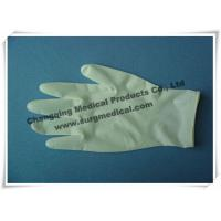 China Surgical Medical Examination Glove Textured / Soomth Latex Powdered / Powder Free on sale
