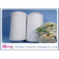 Quality Bleaching White 100% Spun Polyester Spun Yarn For Clothing Sewing Threads for sale