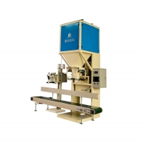 Buy cheap 50kg open mouth bag rice beans peanuts packing machine from wholesalers