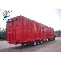 Quality Enclosed Truck Trailer For Sale / Box / Van Semi Trailer/ Container Van Semi trailer 32ft-60ft for sale