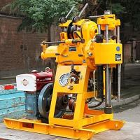Buy cheap 100 Meter Drilling Depth Engineering Drilling Rig / Truck Mounted Drilling from wholesalers