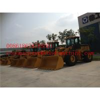 Quality Yellow High Carbon Steel Small Wheel Loader Dumping Height 3100mm for sale