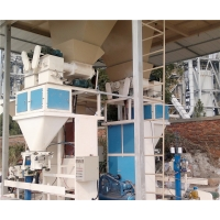 Quality CE Pneumatic Driven 25kg Bagging Machine For Fish Feed for sale