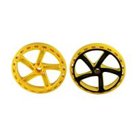 Quality H13 Two Color Multi Material Injection Molding POM Toy Car Wheels 1*2 Cavity for sale