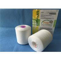 Quality 40/2 TFO / Ring Spun Polyester Yarn / Sewing Machine Yarn With Plastic Cone for sale