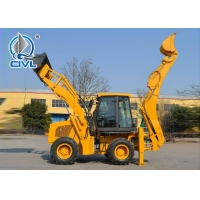 Quality XCMG Compact Wheel Loader 65 KW 1m3 0.3 Excavator Bucket Small Backhoe Loader WZ30-25 for sale