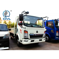 Quality Light Cargo Trucks 102HP Light Commercial Trucks Dimension (Mm) 5995x2000x2450 white color for sale