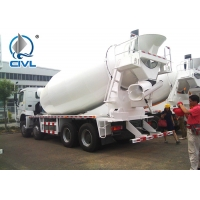 Quality EUROII Sinotruk HOWO Mobile Concrete Mixer Truck with 10CBM tanker  RHD 10 Wheels 336HP Engine for sale