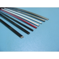 Quality Flat Stainless Steel 1.2mm Color Coated Wire Polyester Pet Coating for sale