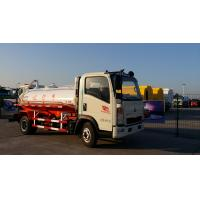 Quality SINOTRUCK HOWO Light 6000L Sewage Suction Truck 6X4 in White , 290HP 336HP for sale
