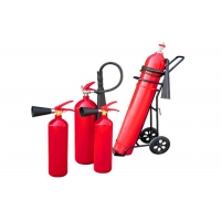 Quality Iron 27 Bar OEM Service 5kg Co2 Fire Extinguisher for sale