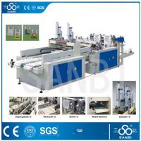 Quality 9Kw Auto Polythene Bag Manufacturing Machine / Equipment With Two Sealing knifes for sale
