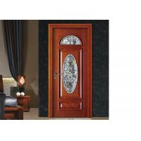 Buy cheap Door / Window Decorative Patterned Glass, Brass / Nickel / Patina Decorative Glass Panels from wholesalers