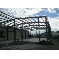Quality Safe and strong Steel Framework With Mezzanine For Industrial steel structure warehouse fabrication for sale
