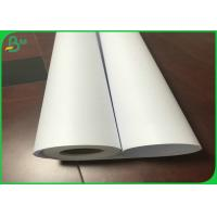 Buy cheap 24 Inch * 50m 36 Inch * 150m 80gsm CAD Plotter Paper Roll For Garment Drawings from wholesalers