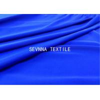 Quality Solid Dyed Colors Spandex Blended Recycled Swimwear Fabric High Stretch Recovery Comfort Power Micro Fiber for sale