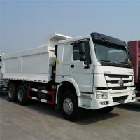 Quality Sinotruk Howo 6x4 Dump Truck 336-371hp , Loading Mud , Sand , Stone for sale