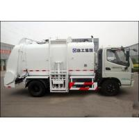 Quality 10cbm Trash Compactor Truck High Pressure Cleaning 18mpa , Total Weight 16000kg for sale