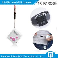 Quality personal gps tracking device for elderly sos button personal gps tracker RF-V16 for sale