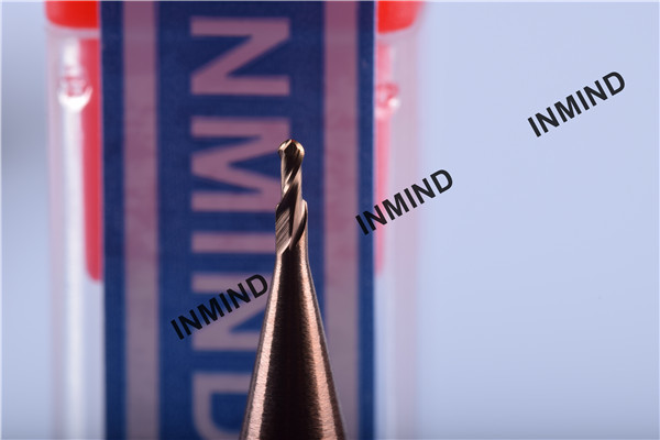 Buy SiN Coating , Ball Nose End Mill , standard type R0.75 , 1.5mm  Germany Qulaity , Copper Colour , 2 Flute at wholesale prices